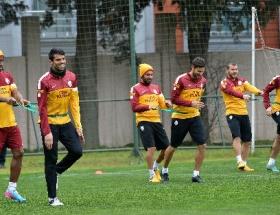 Galatasaray maç hazırlıklarına devam etti