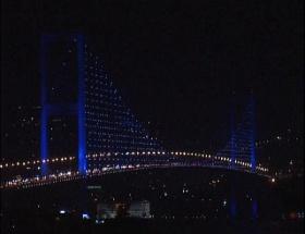 İstanbul bir saat karardı