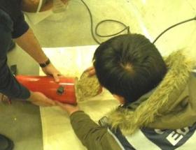 Yangın tüplerinin içinden 15 kilo eroin çıktı