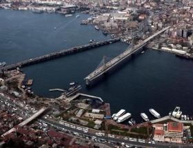 Haliç Metro Geçiş Köprüsü havadan görüntülendi!