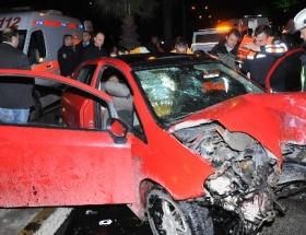 İzmirde kaza: 4 yaralı