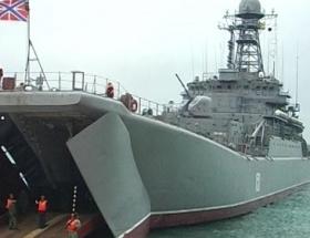 Rusya Karadenizde tatbikata başladı