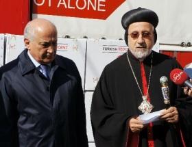 Türk Kızılayından Suriyeli Süryanilere yardım eli