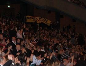 Film Festivali protestoyla açıldı
