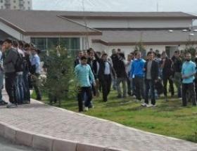 Erciyes Üniversitesinde gerginlik