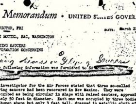 FBIın 63 yıllık UFO bildirisi