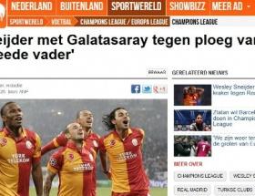 Sneijder, ikinci babasına karşı