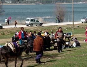 Abantta piknik sezonu açıldı