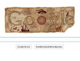 Google Piri Reisi doodleladı