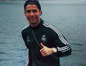 Ronaldonun Boğaz keyfi