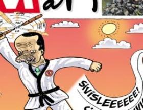 Leman Başbakanı karateci yaptı