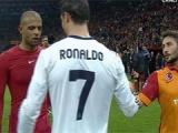 Ronaldo`dan Sabri`ye büyük ayıp!
