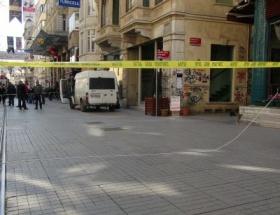 İstanbul Barosu önünde şüpheli çanta