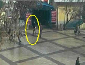 Canlı bombanın yeni görüntüsü ortaya çıktı