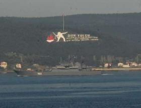 Rus gemileri,Çanakkale Boğazında