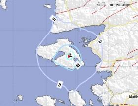 Midilli Adasında deprem