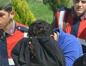 Kepçeyle kaçak kazıya 9 gözaltı
