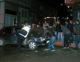 Kozanda trafik kazası: 1 yaralı