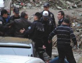 Rizede polisle vatandaşlar arasında gerginlik