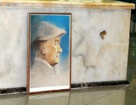 Mermerde Atatürk silueti