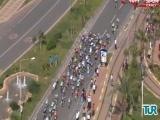 49. Cumhurbaşkanlığı Bisiklet Turunda büyük kaza