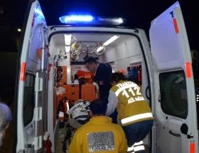 Vakfıkebirde trafik kazası: 3 yaralı