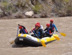 Zap Suyunda rafting heyecanı