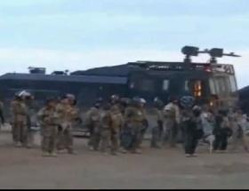Irakta göstericileri taradılar!