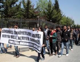 Marmara Üniversitesinde ortalık karıştı