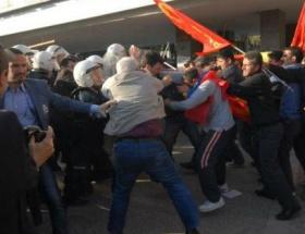 İzmirde soykırım arbedesi