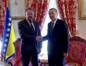Erdoğan, İzzetbegovici kabul etti