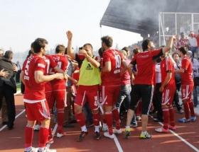 Balıkesirsporda Trabzonspor sevinci