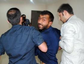 Polisi bıçaklayan zanlı tutuklandı