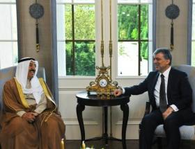 Kuveyt Emiri Çankaya Köşkünde