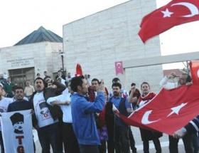 Akil insanlara Hacıbektaşda protesto