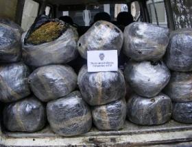 Viranşehirde 78 kilogram esrar ele geçirildi