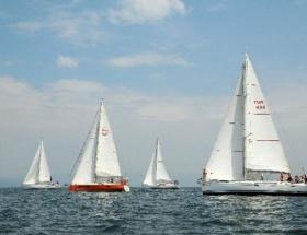 Yelken yarışlarında Trilye Kupası tamamlandı
