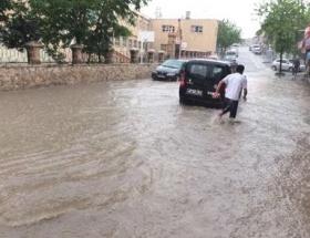 İnegölde şiddetli yağmur