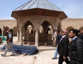 Van depreminde hasar gören tarihi yapılar restore ediliyor