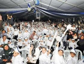 Ankarada 2013 çocuğa sünnet şöleni