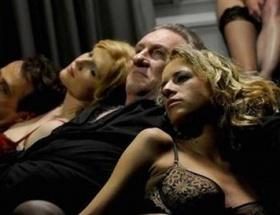 Seks skandalı film oldu