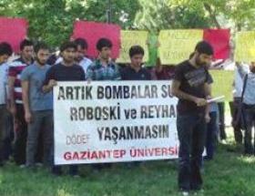 Gaziantep Üniversitesinde Reyhanlı protestosu