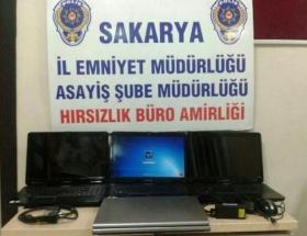 Sakaryada hırsızlık şüphelisi 4 kişi yakalandı