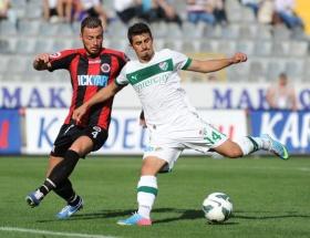 Gençlerbirliği:2 Bursaspor:2