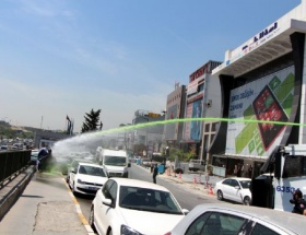 Adli Tıp önünde polis müdahalesi