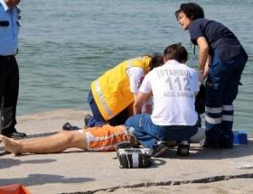 Deniz keyfi ölümle bitti