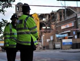 Londrada satırlı terör